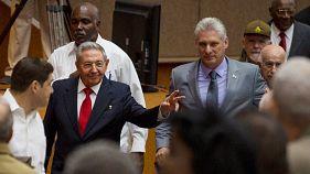 Adeus a Raul Castro, olá a Miguel Diaz-Canel