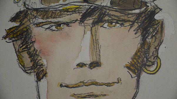 """""""Wahres Comicgenie"""": Hugo-Pratt-Ausstellung in Lyon eröffnet"""