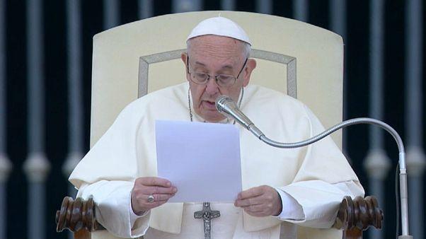 Audience vitale pour le pape