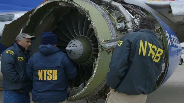 Southwest-Pilotin für ihr fliegerisches Können in den USA gefeiert