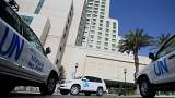 UN security attack stops inspectors entering Syrian town