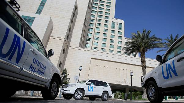 UN security attack stops inspectors entering Syrian town