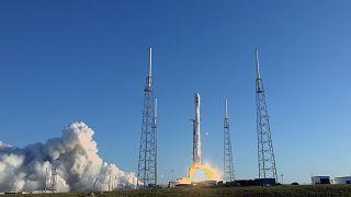 O TESS foi colocado em órbita pelo SpaceX Falcon 9