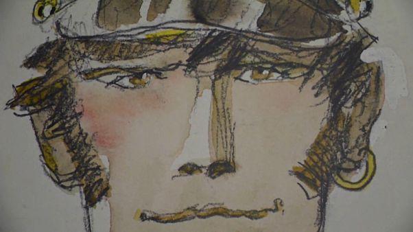 Lyon acolhe exposição de Hugo Pratt