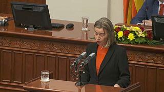 Σκόπια: Αισιοδοξία Μογκερίνι για επίλυση του ονοματολογικού