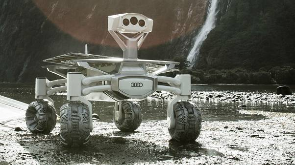 A Audi-funded lunar rover