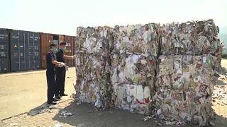 Megnyirbálják a hulladékimportot Kínában