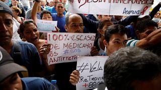 Venezuela: semana de manifestaciones por la crisis sanitaria
