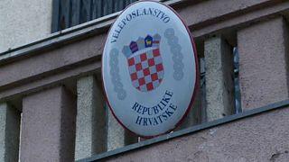 Horvát-szerb incidens Zágrábban