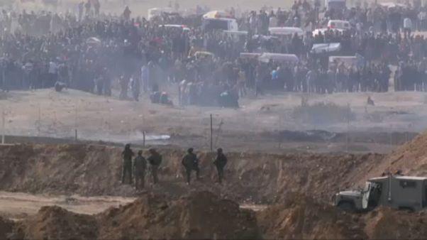 A Gaza Israele si astenga dall'uso di forza letale contro i palestinesi. Votata una mozione al Parlamento UE