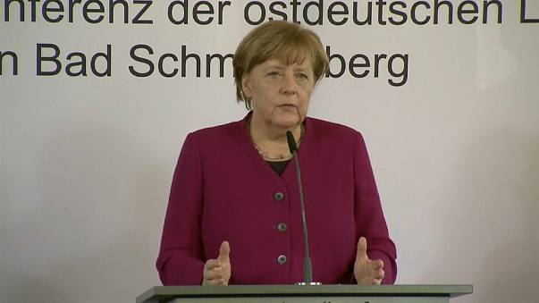 Merkel condena agressão antissemita em Berlim