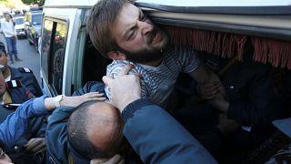 Confrontos na Arménia durante protestos contra primeiro-ministro