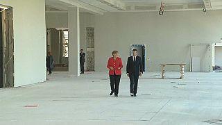 Berlin'de Merkel-Macron zirvesi