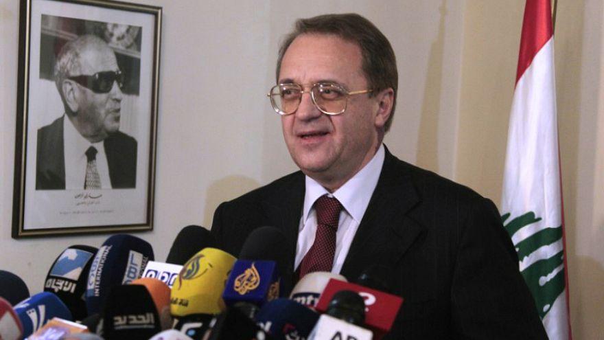 صورة من أرشيف رويترز لميخائيل بوجدانوف نائب وزير الخارجية الروسي
