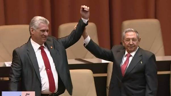 Miguel Diaz-Canel replaces Raul Castro as president on Thursday