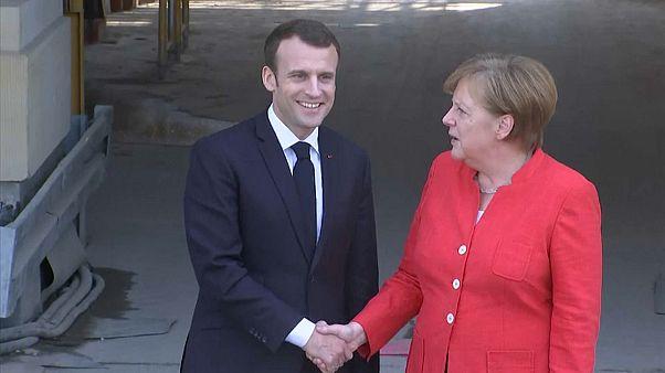 Alemanha e França acertam posições