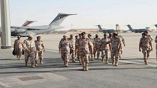 Qatar joins Gulf war games in apparent compromise