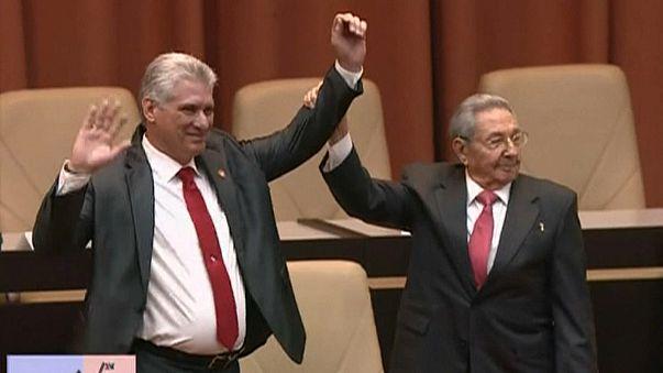 Küba'nın yeni lideri Miguel Diaz-Canel