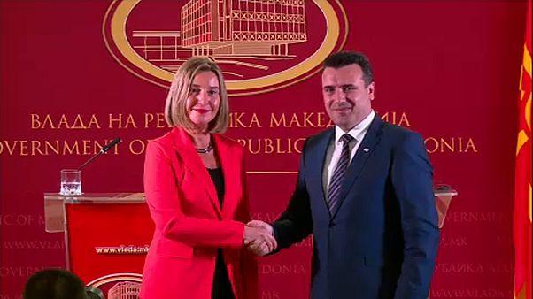 Mogherini: Macedónia jó úton halad az EU felé