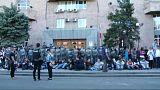 Manifestación en Armenia contra el primer ministro