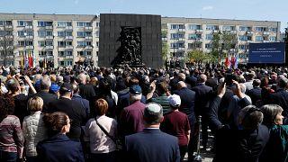 Soulèvement du ghetto de Varsovie : 75e anniversaire