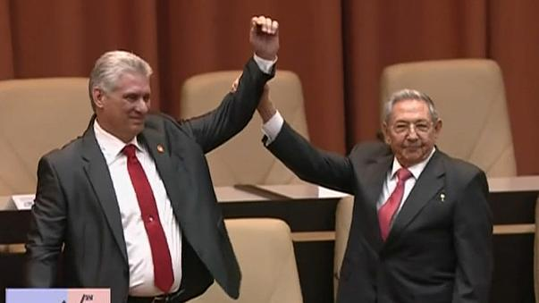 Díaz-Canel é o novo presidente cubano