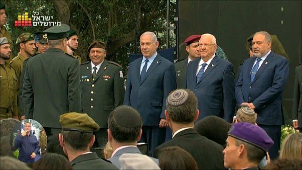 İsrail'in kuruluşunun 70'inci yılı kutlandı