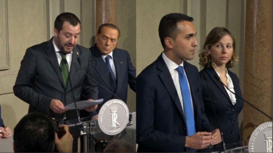 """Salvini: """"via i veti"""", ma Di Maio lo gela su Berlusconi"""