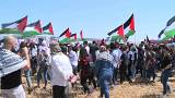 Filistinliler 'Felaket Günü'nü andı