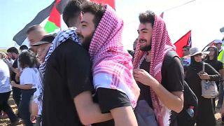 """Palästinenser gedenken der """"Nakba"""""""