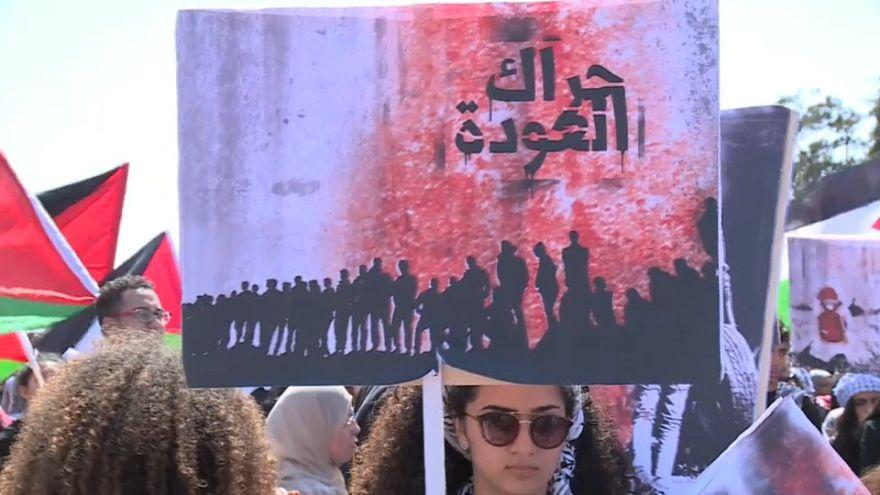Скорбная дата для палестинцев, светлая для израильтян