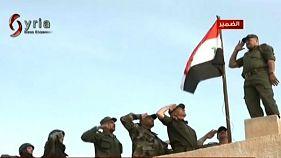 القوات الحكومية السورية تدخل بلدة الضمير بريف دمشق