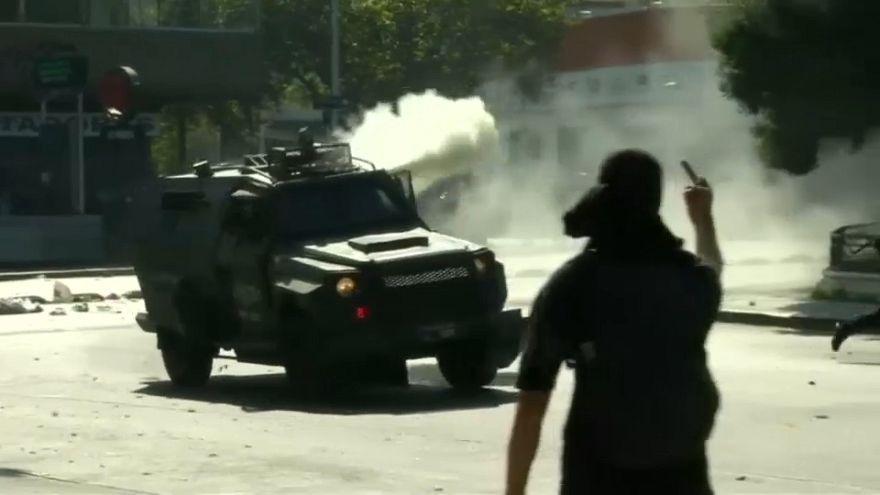Protestas contra las políticas sociales en Latinoamérica