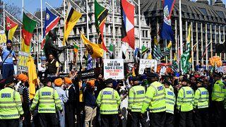 Le viol en Inde, condamné par les Londoniens