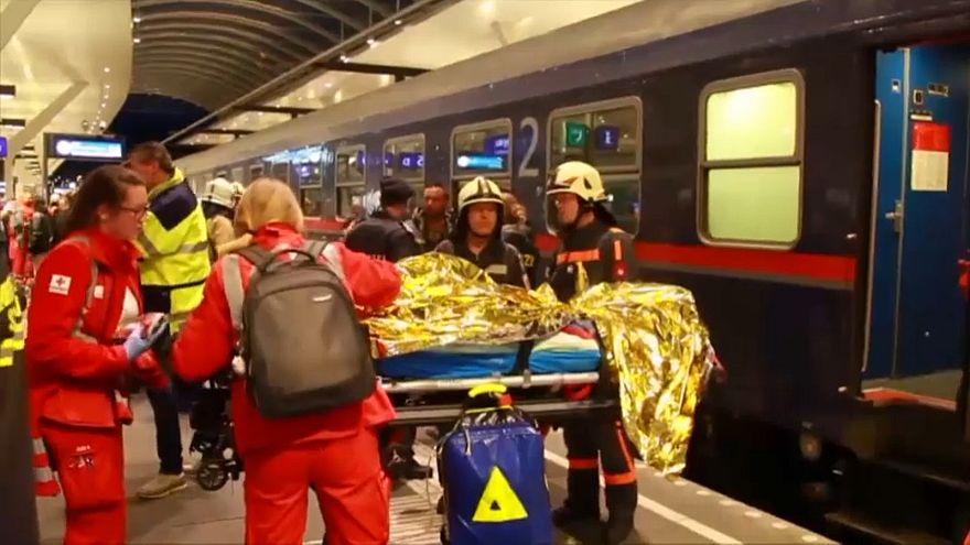 50 Verletzte am Salzburger Hauptbahnhof nach Zugunglück