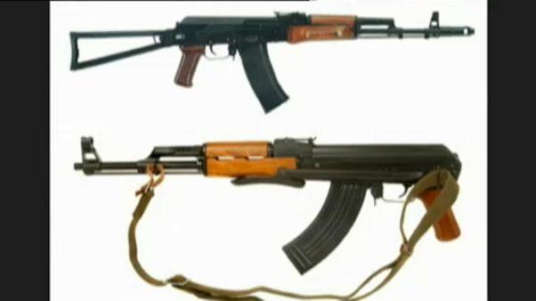 Откуда у террористов стрелковое оружие?