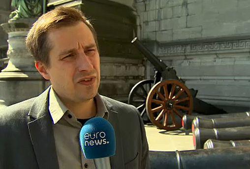 Nils Duquet de l'Institut flamand pour la paix