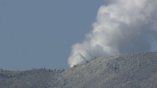 Japón: entra en erupción un volcán por primera vez desde 1768