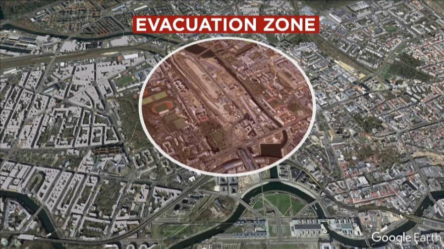 Bomba da II Guerra Mundial encontrada em Berlim
