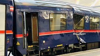 Al menos 54 heridos leves en un accidente de tren en austria