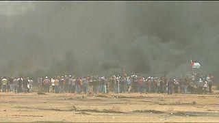 Proteste von Palästinensern in Gaza: Mindestens 2 Tote, viele Verletzte