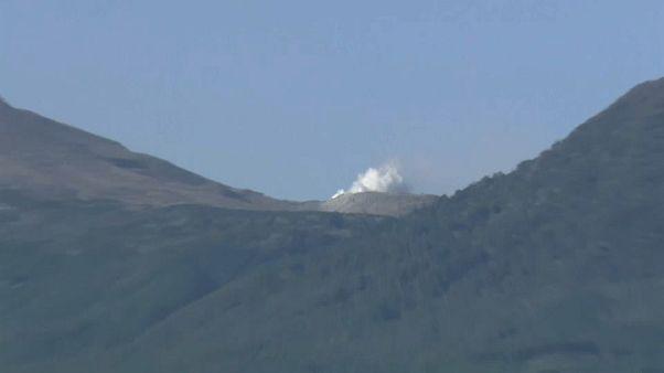 Japon : un vieux volcan se réveille brusquement
