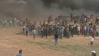 Újabb halálos pénteki tüntetés a Gázai-övezetben