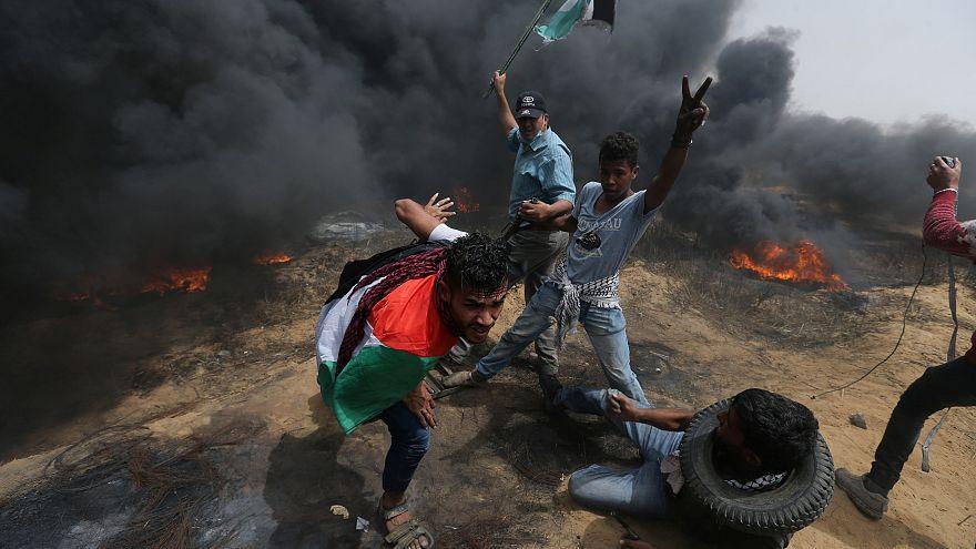 Mindestens zwei Tote bei Freitagsunruhen im Gaza