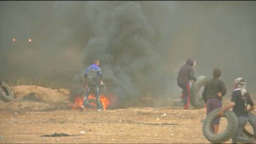 Al menos dos palestinos han muerto en la Franja de Gaza