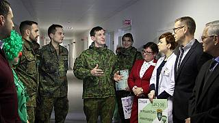 NATO soldiers seek to bring support, as well as defence to Lithuania