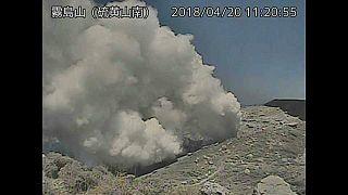 Der Mt.lo brach seit 250 Jahren zum ersten Mal aus