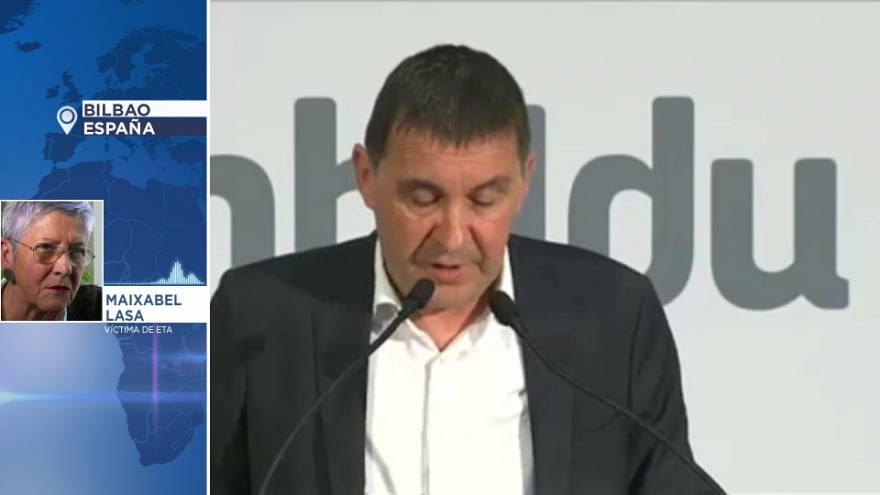 """Maixabel Lasa: El comunicado de ETA es """"agridulce"""""""