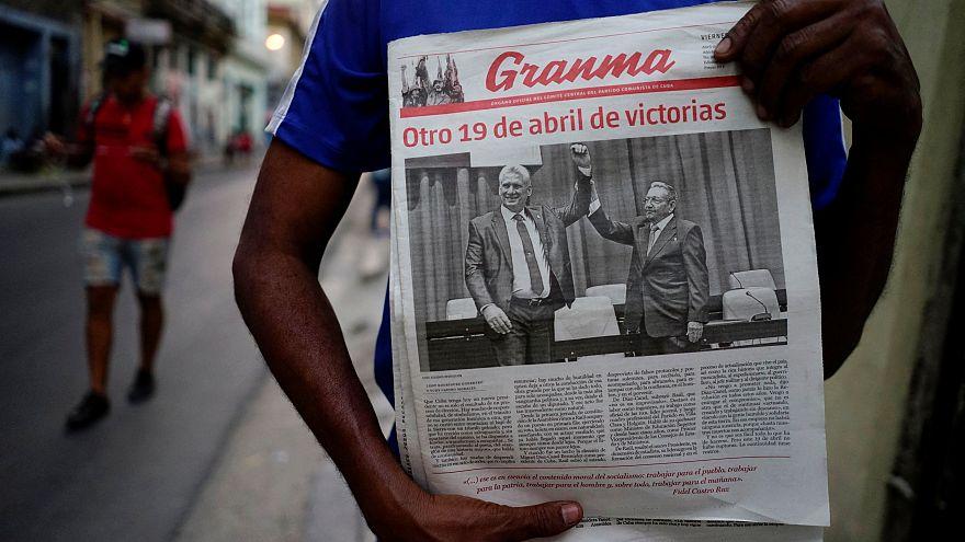 Os desafios do novo presidente cubano