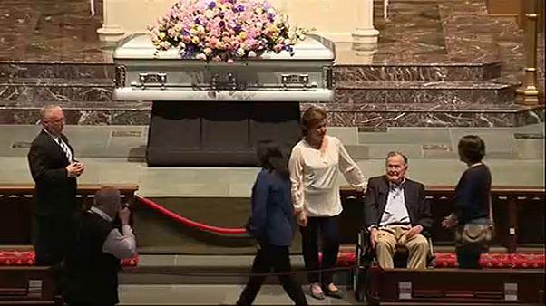 Barbara Bush búcsúztatása
